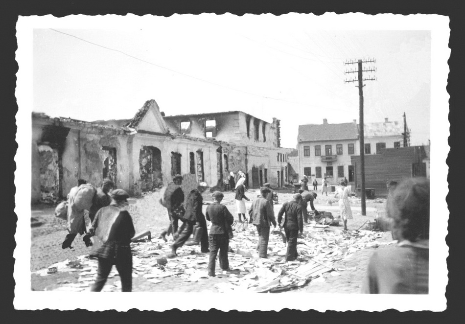 Слонім, чэрвень 1941 года