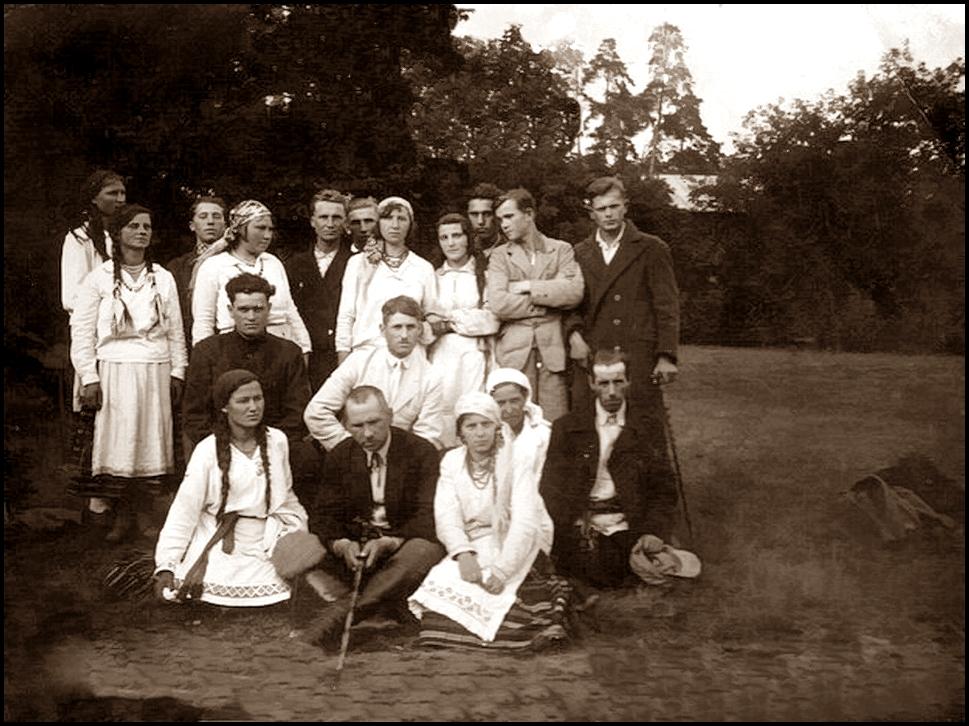 Слонімцы, 1933 год