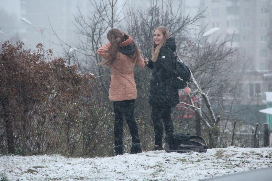 Оранжевый уровень опасности из-за сильного мокрого снега объявлен вРеспублике Беларусь 10декабря