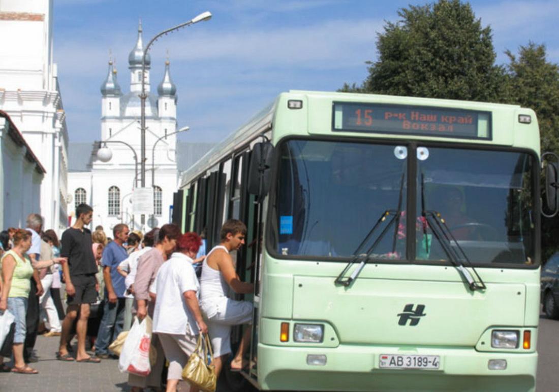автобус,остановка,слоним