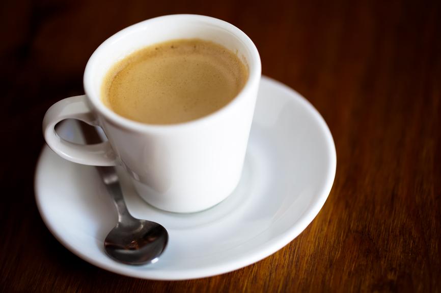 Как сделать чашку кофе 3