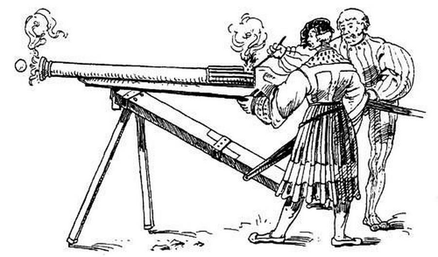 рисунок,оружие