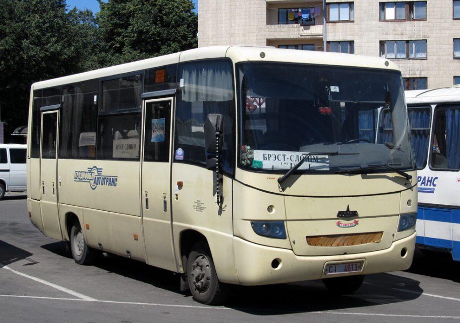 автобус,парковка