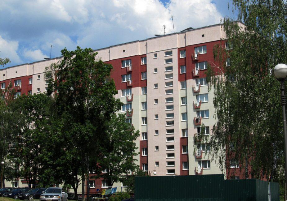 Дом №42 на ул. Карла Маркса слоним