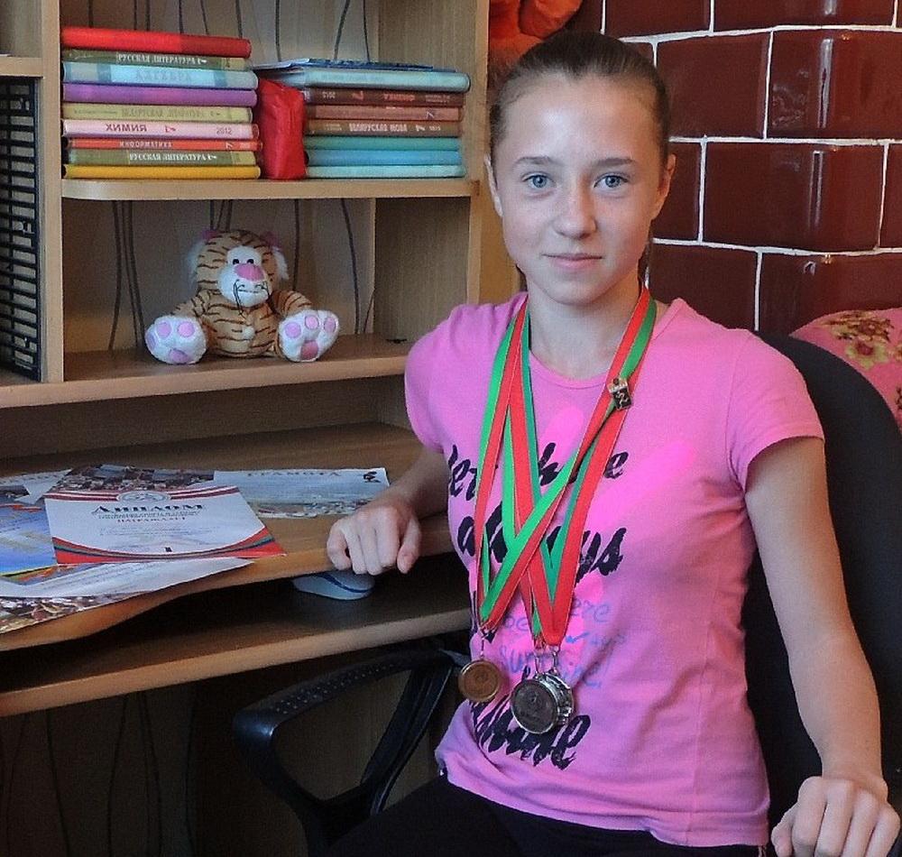 медаль,спортсменка