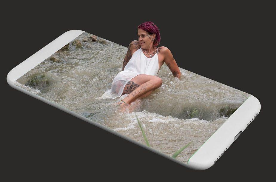 вода телефон