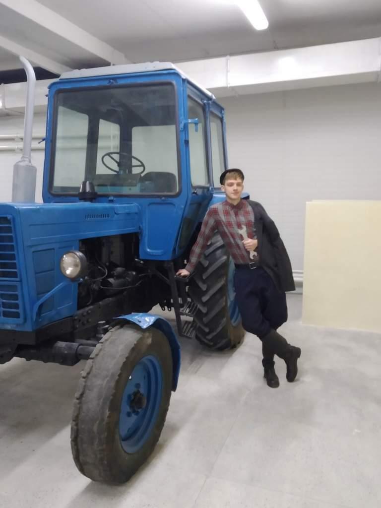 экспозиция ретротехники сельскохозяйственного профиля 5