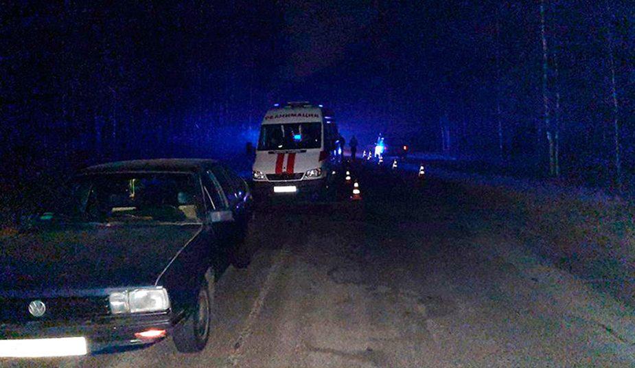 В Жлобинском районе мужчину насмерть сбили два автомобиля