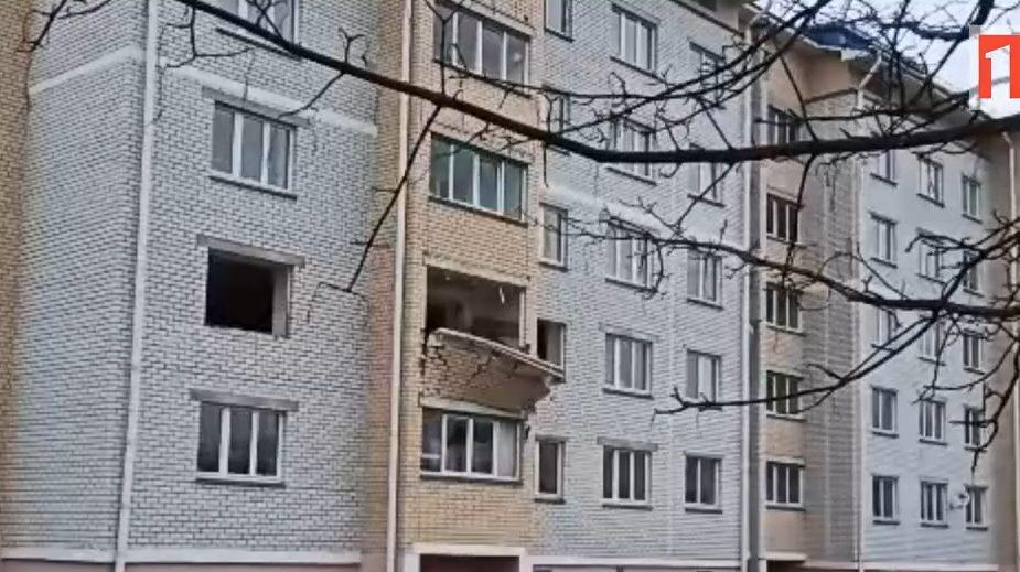 Жуткие кадры: в Дрогичине произошел взрыв в квартире