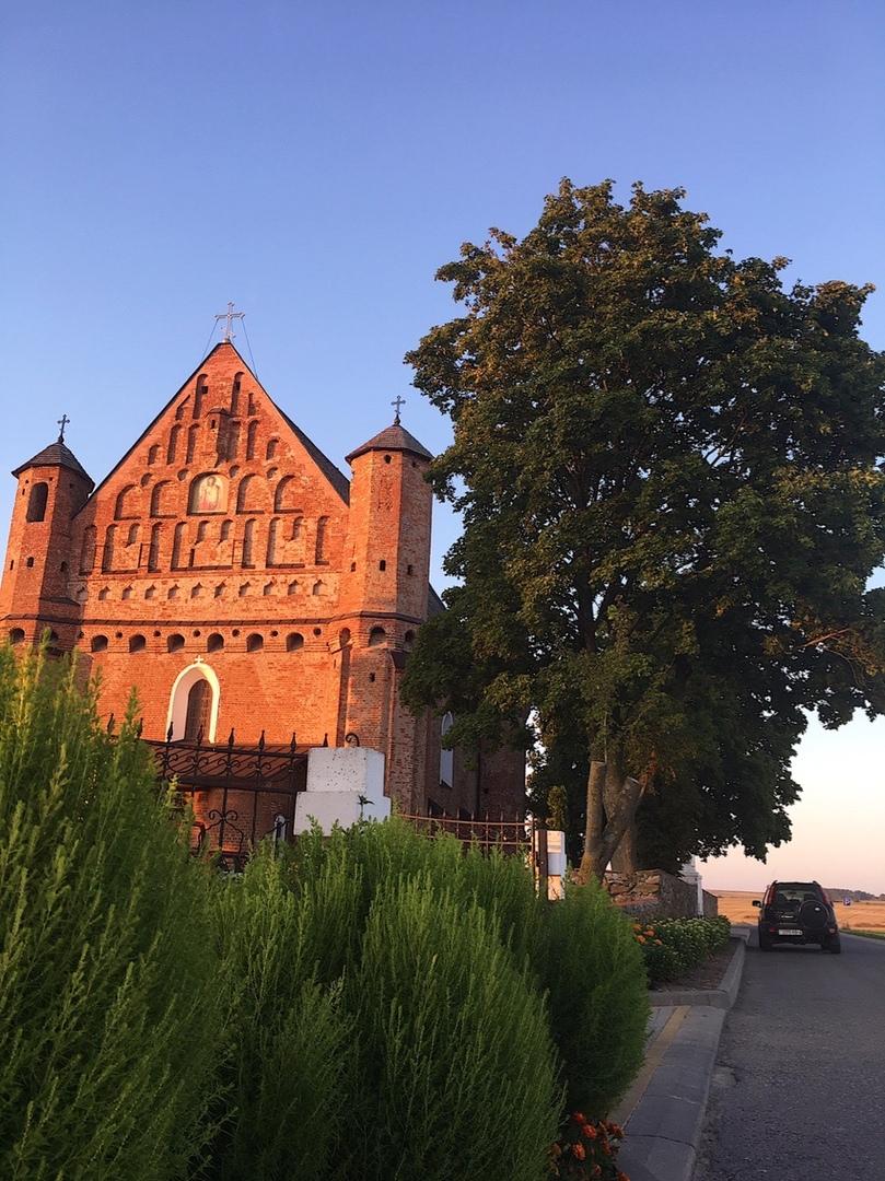 сынковичская церковь-крепость