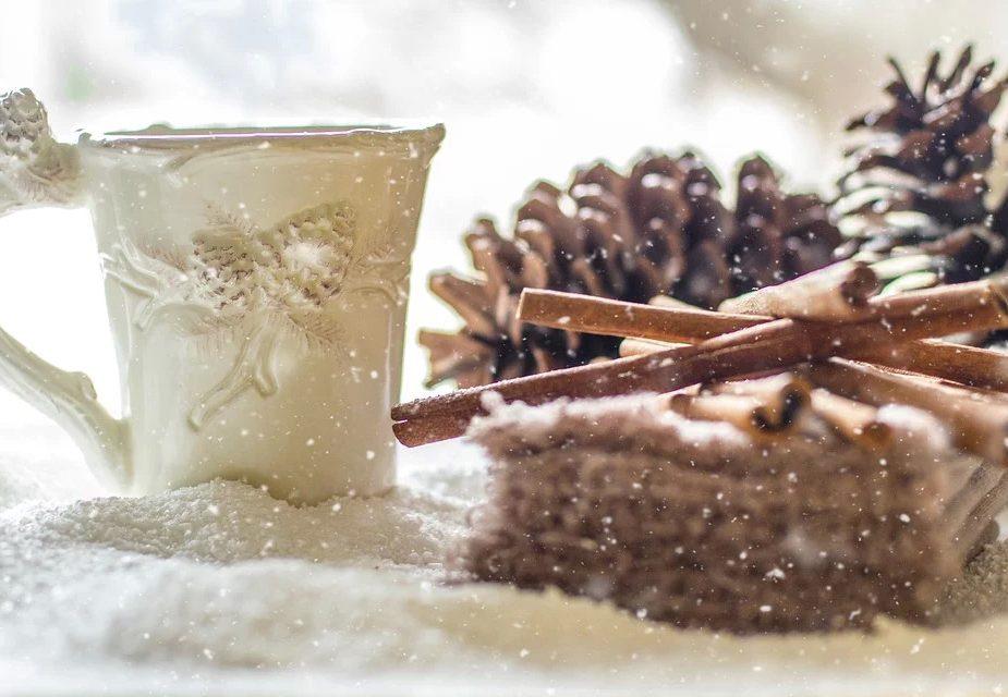 Декабрь чай снег