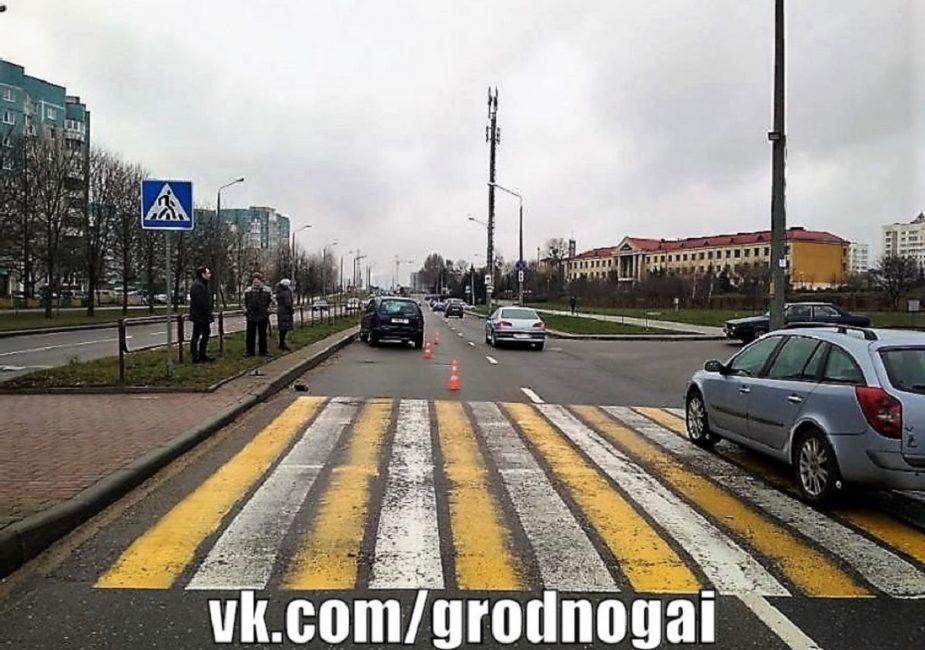ДТП, в Гродно, школьники