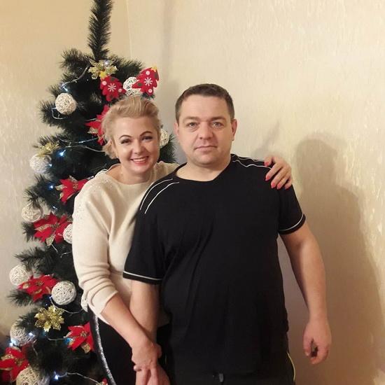 Оксана Савчук и Андрей Ахралович