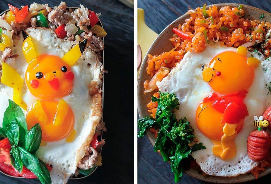 Эта японская мама делает фантастическую яичницу