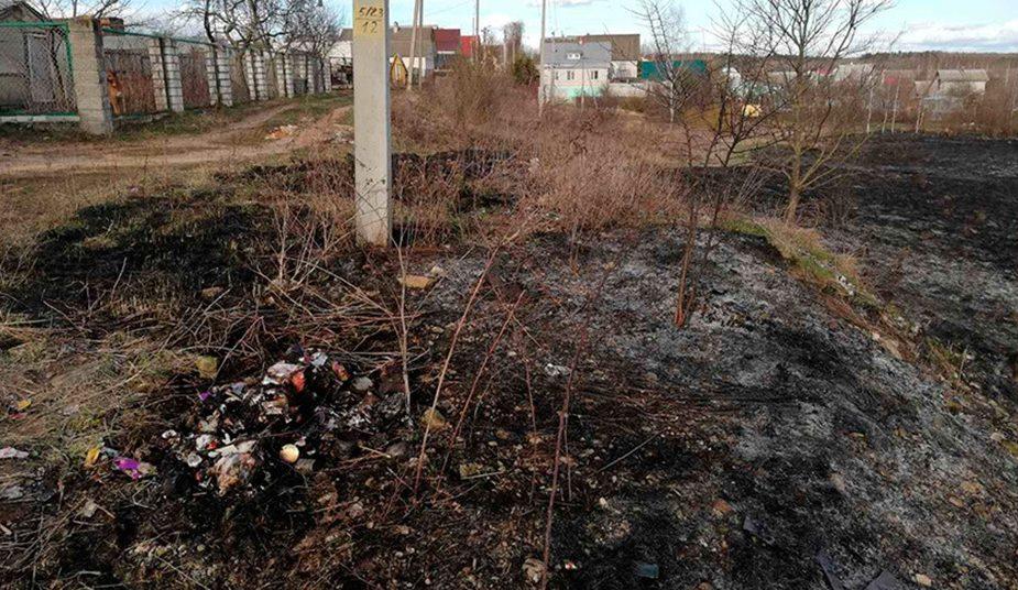 Пенсионер погиб сжигая мусор на своем участке