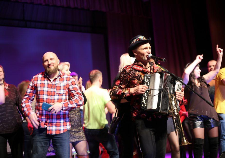 Легендарны ўкраінскі гурт упершыню адыграў у Слоніме!