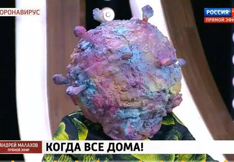 """На телеканал """"Россия 1"""" пригласили коронавирус и взяли у него интервью"""