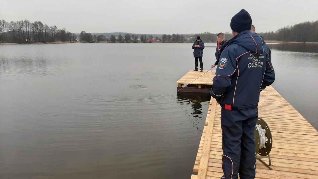 На Лобазовском озере.