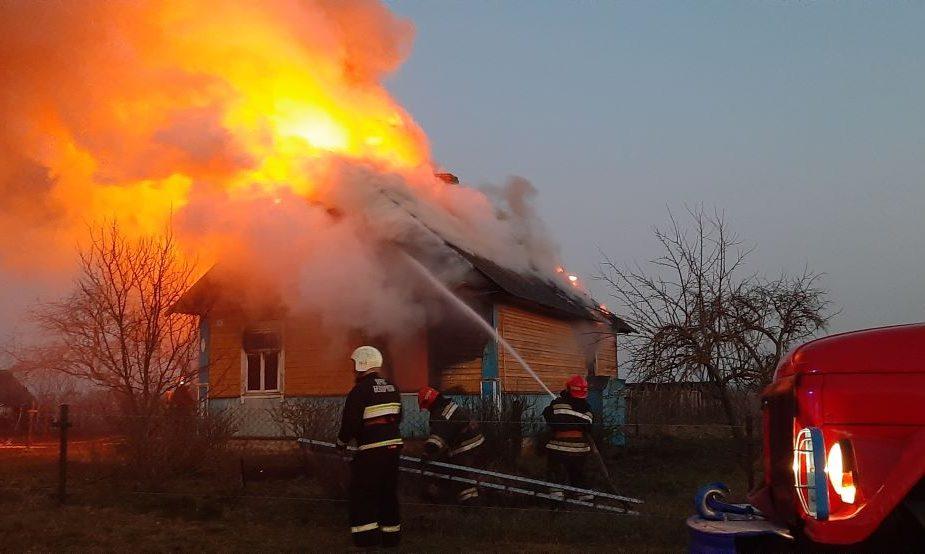 Пожар в Новоорловичах