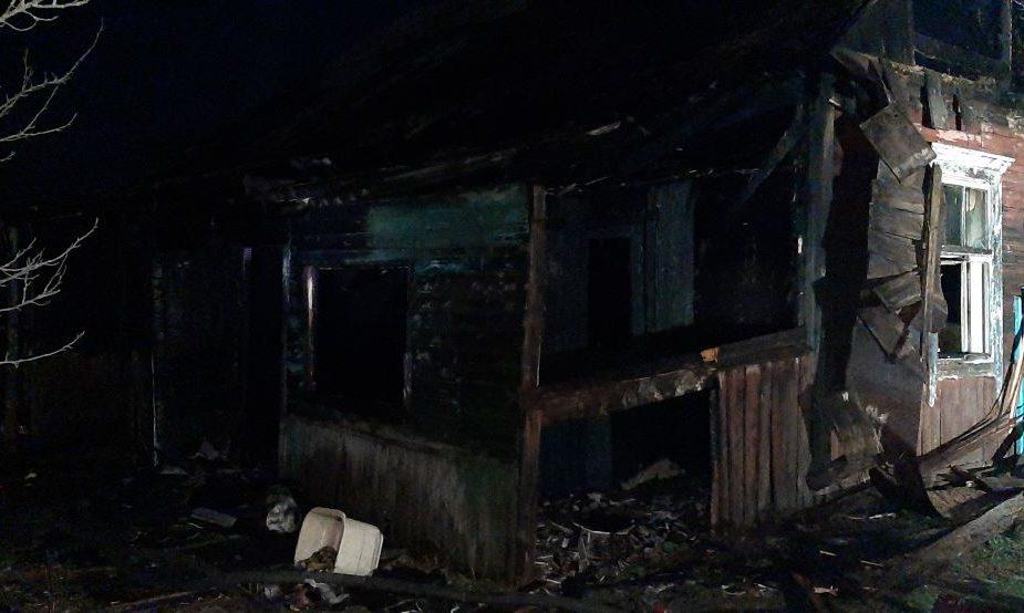 пожар в Слониме