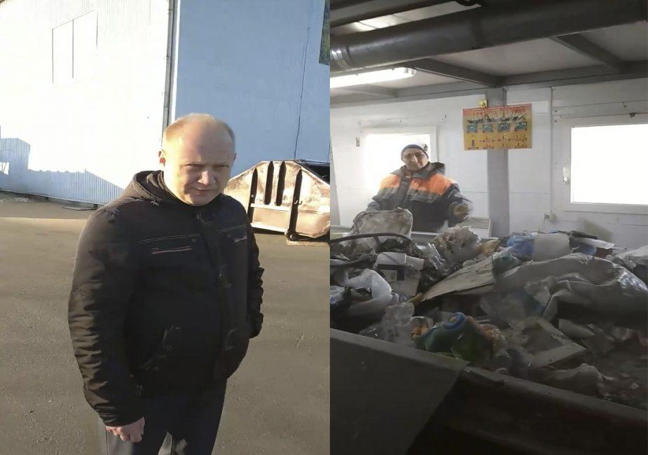 На Слонимской станции сортировки отходов произошел конфликт между рабочими и начальством