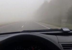 Буря. в Мостах