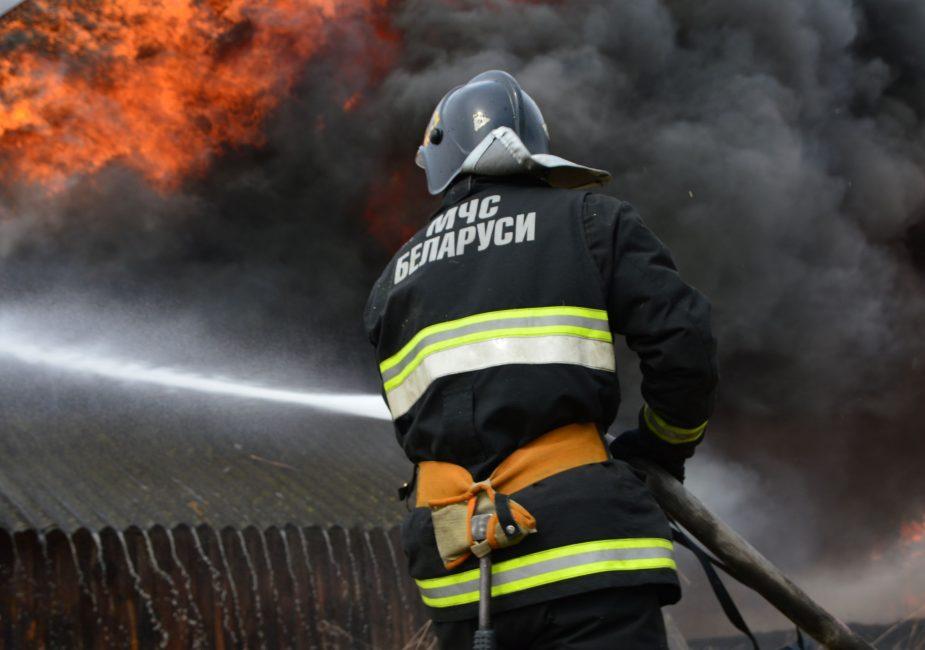 пожар приречье