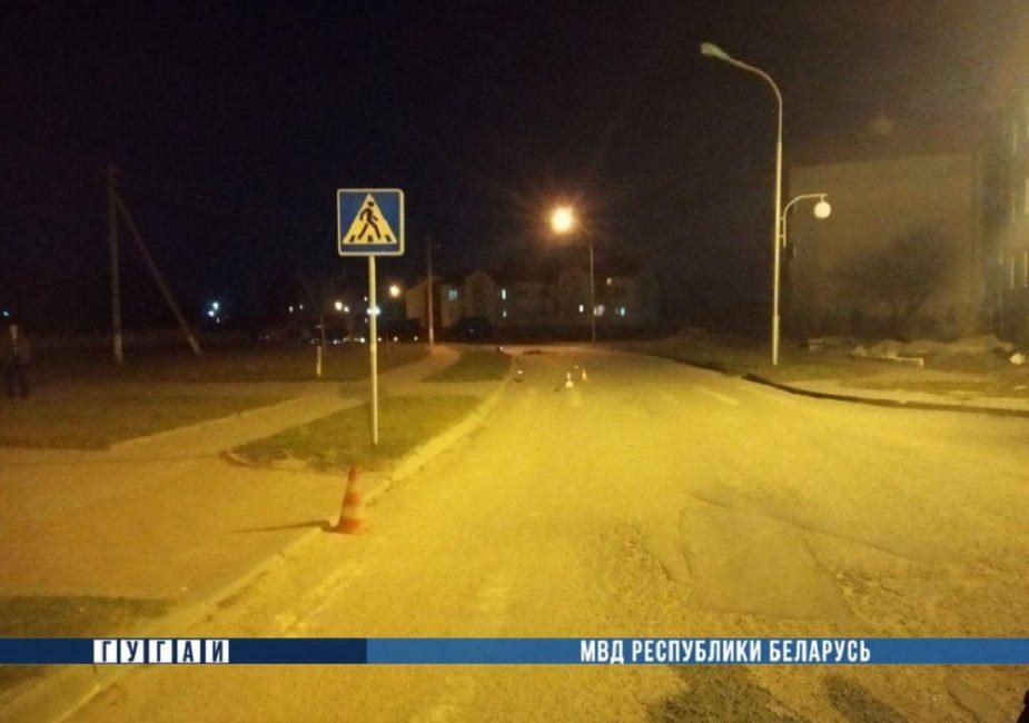 ДТП с мотоциклистом, в Щучинском районе