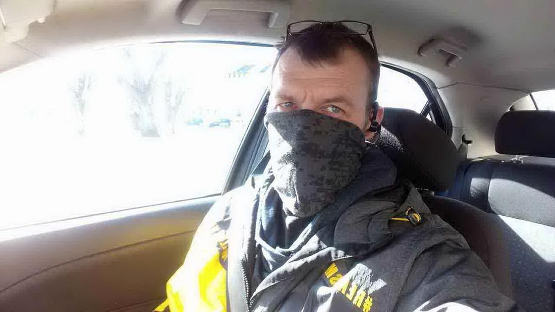 Валерий в машине