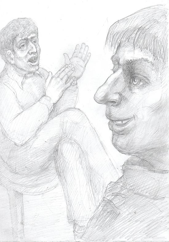 Рисунок Евгения Иванова