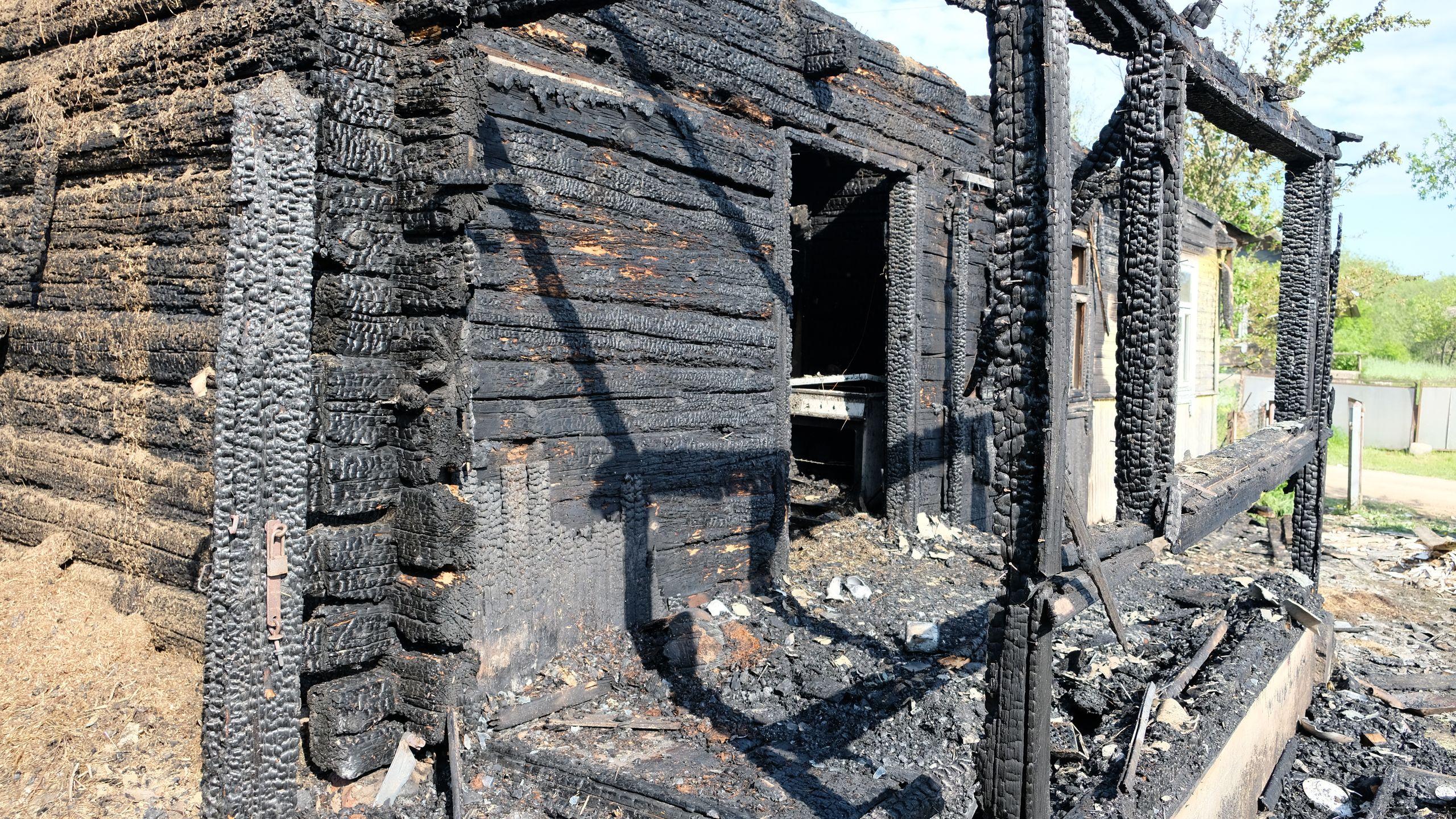 пожар в Браково