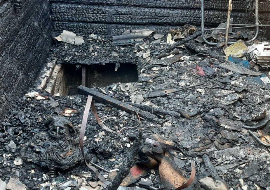 Пожар в Жировичах.