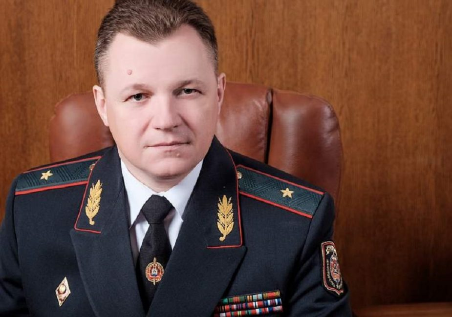 Начальник Гродненского УВД Вадим Синявский