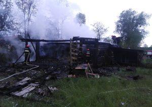 Пожар, в Шундрах, на Слонимщине