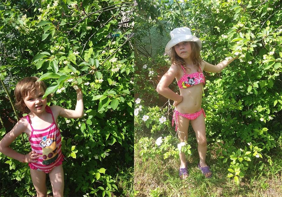Шпак Анюта(6 лет) и Шпак Катюша(5лет