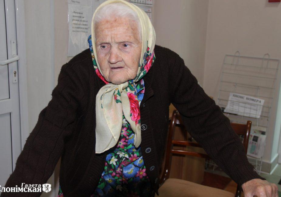Слонімская пенсіянерка Марыя Сушко