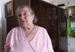 Пенсіянерка Зоя Травінава ў сваёй кватэры