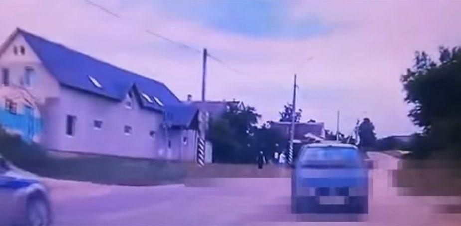 В Волковыске пьяного водителя задерживали со стрельбой. Видео