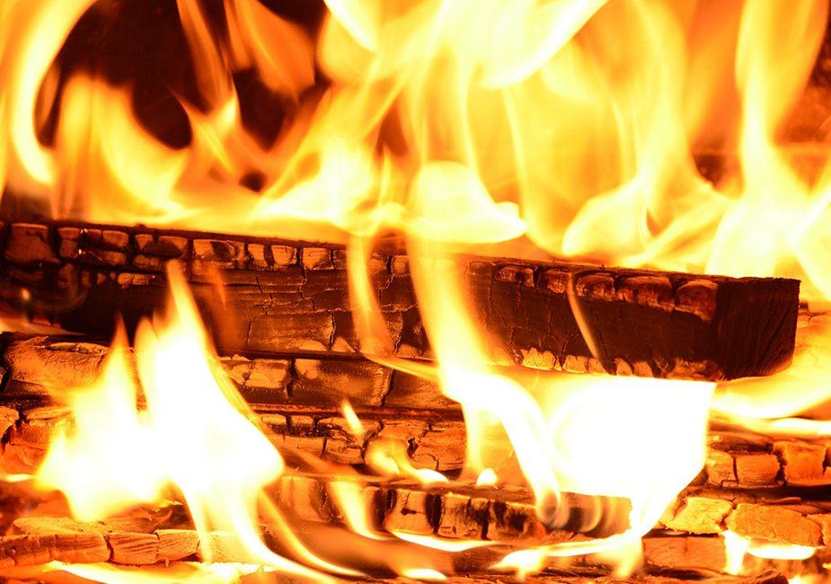 сгорела пилорама