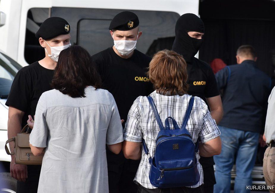 В Слуцке власти сорвали разрешенный митинг Светланы Тихановской