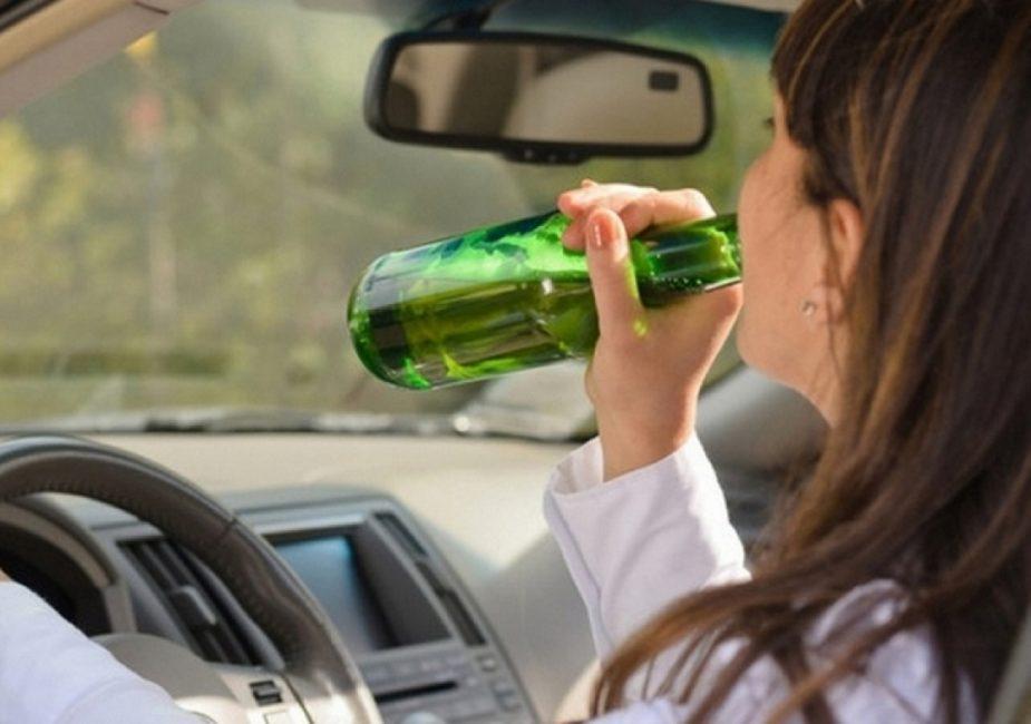 За рулём с тремя детьми и 3,52 промилле алкоголя
