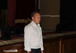 Андрей Дмитриев выступает в Слониме