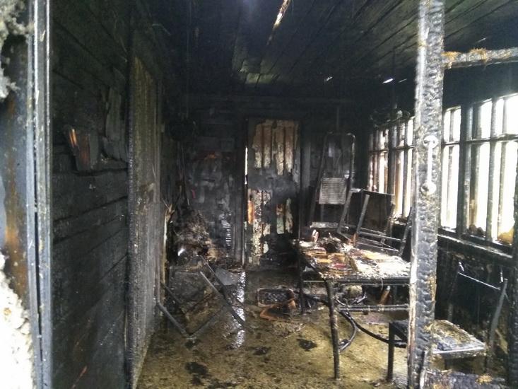 загорелся жилой дом 2