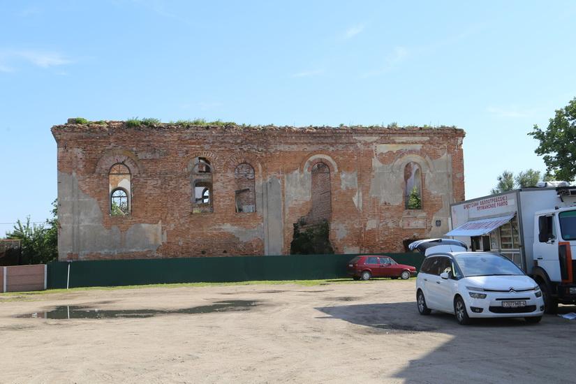 Остатки синагоги