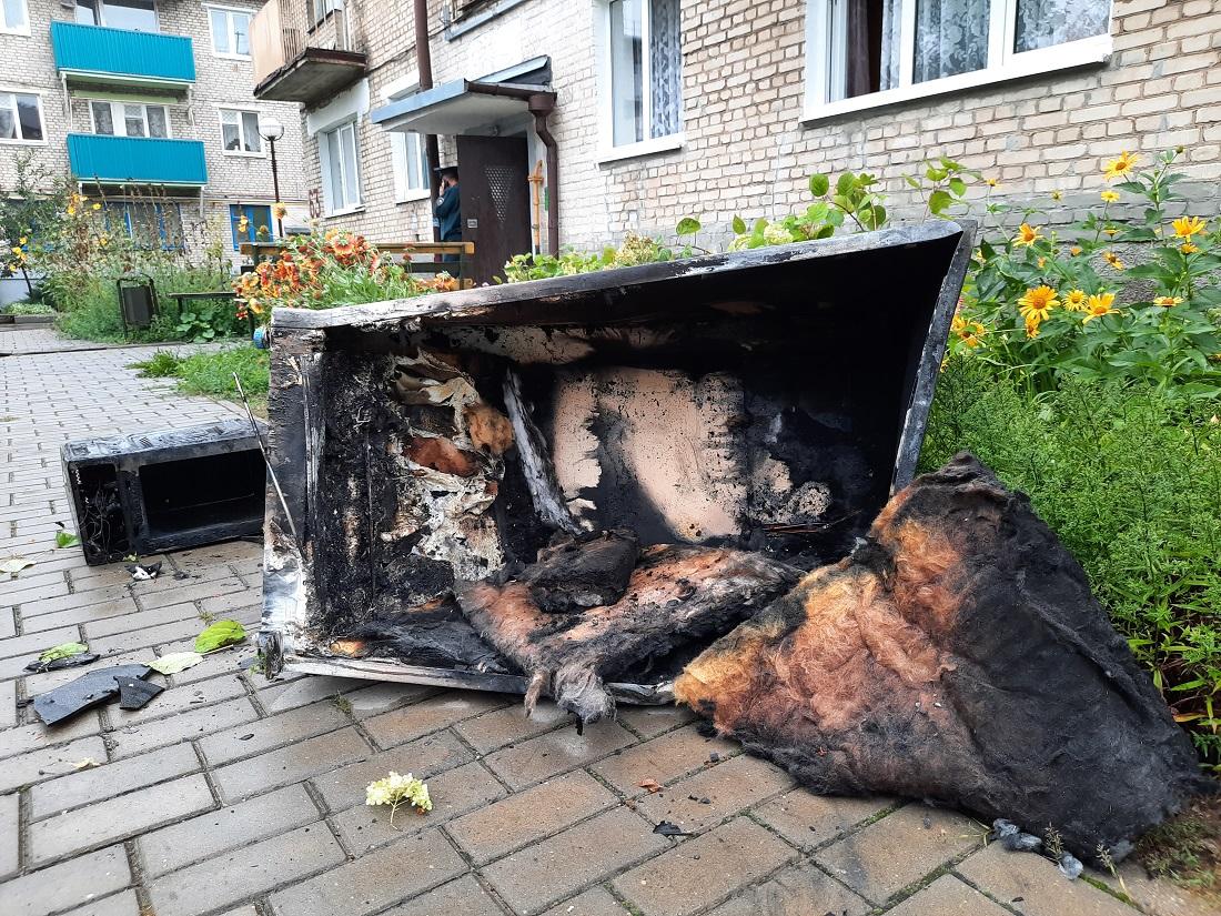 Пасля пажару