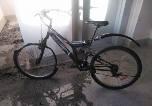 Велосипед подгорел