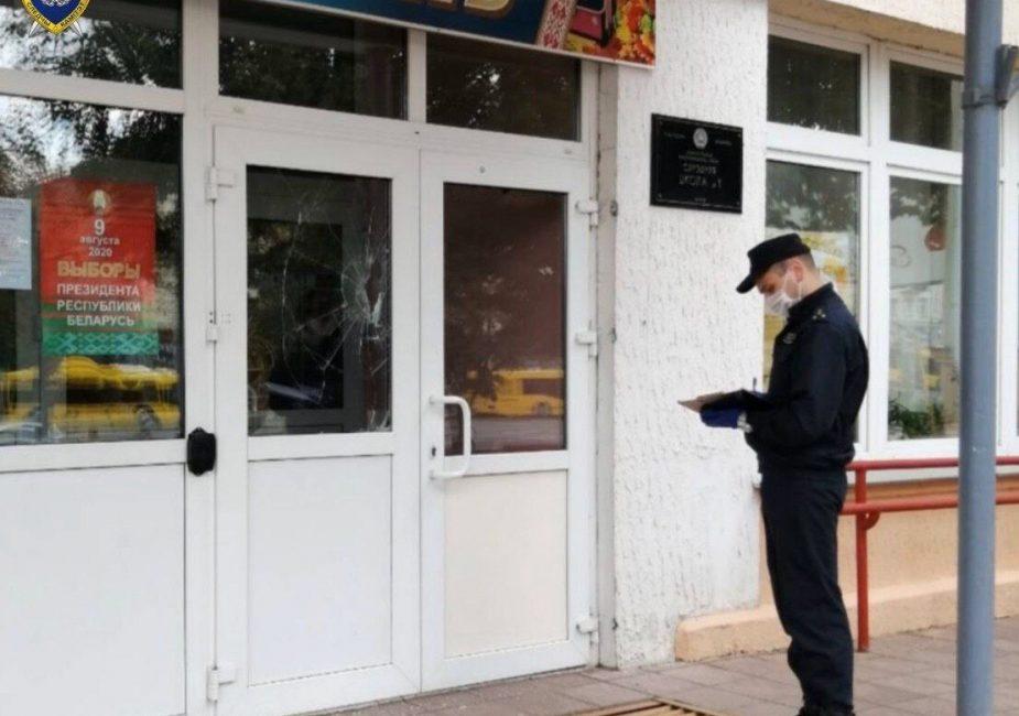 Минчанин ударил милиционера и повредил двери избирательного участка