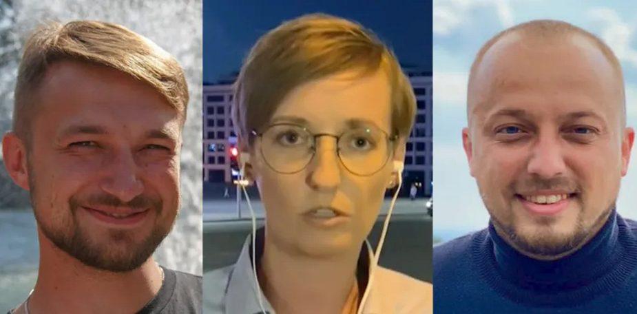 В Минске задержали украинских журналистов