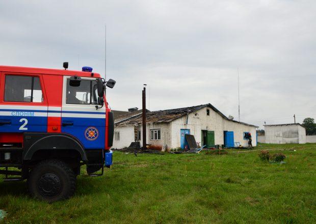 Работники МЧС спасли от огня 7400 цыплят