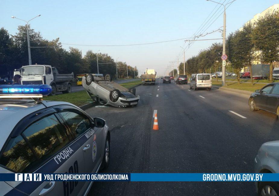 После ДТП в Гродно